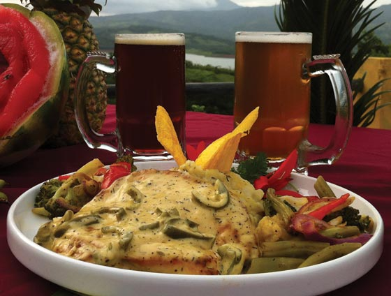 Our famous Pollo Jalepeño, Witch's Rock Pale Ale, and Witch's Rock Gato Malo craft beers